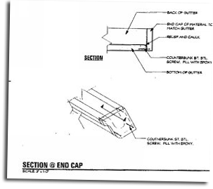 Section end cap