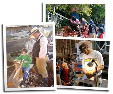 Photos from previous May Day and Craftsman's Days events