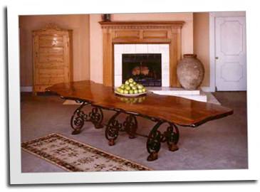 Table made by the Blue Ox Millworks for President Clinton